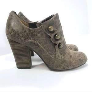 Seychelles distressed ankle booties